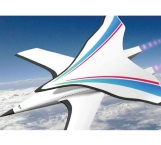 Nuevo avión hipersónico podría hacer ruta beijing - nueva york en 2 horas