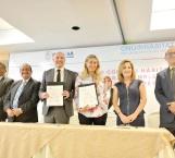 Firma alcaldesa Maki Ortiz convenio con ONU Hábitat