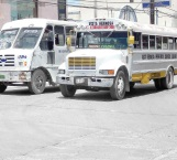 Recortan salidas de transporte y gente trabajadora sufre
