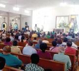 Con misa concluyen eventos religiosos de Semana Santa
