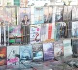A disposición acervo literario en Feria  del Libro