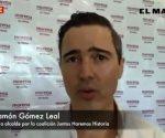 Confirma registro José Ramón Gómez Leal