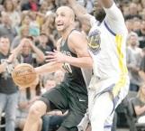 ¡Manu guía a Spurs!
