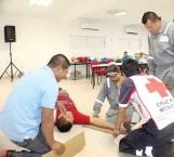 Gran aceptación tiene la capacitación de Cruz Roja
