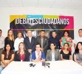 Convocan a primer debate ciudadano y a candidatos
