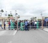 Protestan obreros para que cesen los despidos injustificados