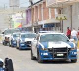 Vigilan patrullas estatales desfile de obreros en su día