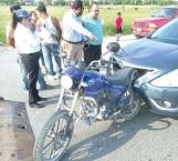 Vuela conductor de moto