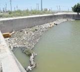 Cinco años sin limpieza satura  sifón del Canal Anzaldúas la basura