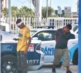 Dos sujetos arrestados por actos reñidos con la moral