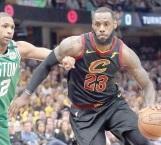 ¡Carga 'el rey'  a Cavaliers!