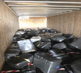 'Atoran' droga en puerto de Laredo
