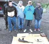 Atrapan en CDMX a 4 secuestradores