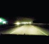 Falta de luz en carretera causa inseguridad
