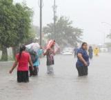 Desastroso saldo dejan torrenciales lluvias en la región