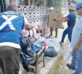 Invita gobierno municipal a ayudar a damnificados
