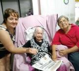 Hoy cumple 104 años de vida Doña Aurorita