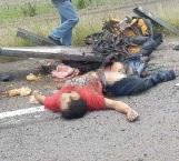 La muerte lo esperaba en la carretera