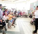 Entrega DIF Reynosa más sillas de ruedas y aparatos funcionales