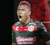 El colombiano Fabián Castillo llega a Tijuana