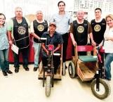 Entregan apoyo Club Rotario y el DIF Reynosa