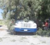 Provoca un apagón con pesado camión
