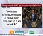 Trump prefiere a AMLO que al capitalista de Peña Nieto