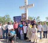 Elevan oración por migrantes que perdieron la vida en el camino