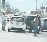 Por descortés provoca accidente en el Hidalgo