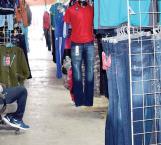 Ausencia de los compradores en el Mercado Guadalupano
