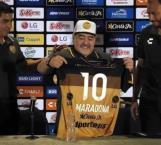 Asegura Maradona que no viene de paseo