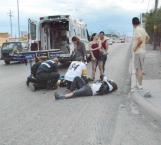 Se lleva de encuentro a motociclistas