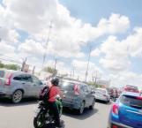 Descontento ciudadano por obras en horas pico