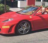 Exhiben por Ferrari a fiscal de Moreira