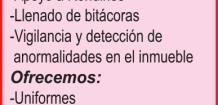SOLICITAMOS: *GUARDIA DE