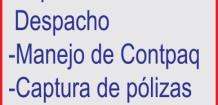 DESPACHO CONTABLE SOLICITA: