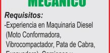EMPRESA CONSTRUCTORA SOLICITA: