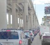 Molestia y tardanza provoca caos vehicular en el bulevard Hidalgo
