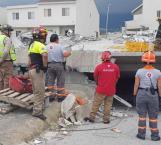 Se derrumba edificio en Monterrey; reportan 3 muertos