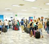 Molestia de usuarios de vuelos comerciales por serios retrasos