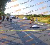 Muere atropellado en carretera Ribereña a la altura del ejido Cavazos