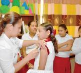 Vacunarán a niñas de 11 años en la Semana Nacional de Salud