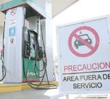Sin gasolina Mier y Guerrero
