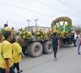 Arriban 300 feligreses a la iglesia San Judas Tadeo para festejarlo