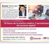 Ofrecerán conferencia El fFuturo de la Ppráctica Mmédica: 3 Aprendizajes del Paciente Digital en Consultorios