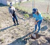 Siembran árboles con compromiso de adopción y brindarle mantenimiento en forma permanente