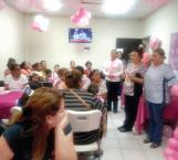 Concientizan a mujeres sobre la prevención del cáncer de mama el CS