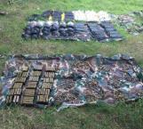 Decomisa Sedena armas en operativos realizados en octubre