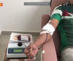 Dona sangre de buen corazón
