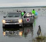 Hallan cadáver de pescador en aguas de la Presa Marte R. Gómez